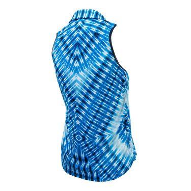 Lucky in Love Boho Sense Calypso Golf Tank - Paradise Blue