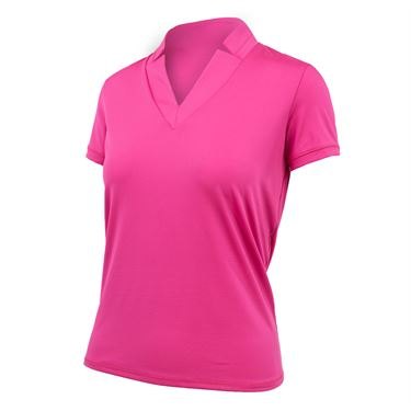 Lucky in Love Off The Charts Chi Chi Golf Top - Pink