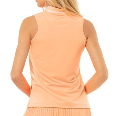 Lucky in Love Eyelet Go Charger Tank Womens Orange Frost GT85 824