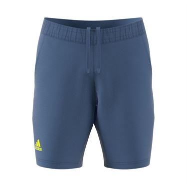 adidas Ergo 9 inch Short Mens Crew Blue/Acid Yellow GU0761