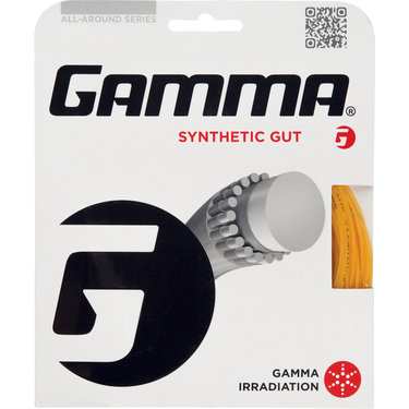 Gamma Synthetic Gut 17G Tennis String