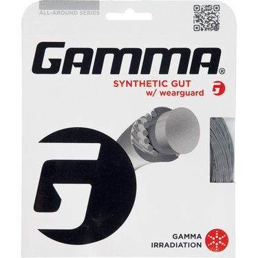 Gamma WearGuard Synthetic Gut 17G Tennis String
