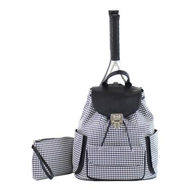 Court Couture Hampton Tennis Bag - Houndstooth