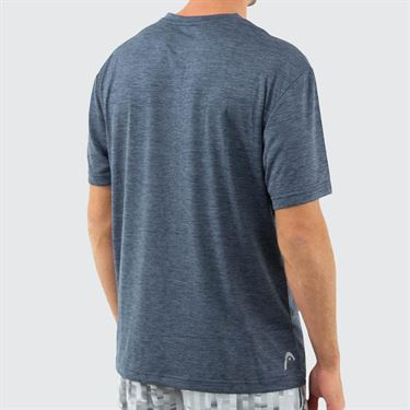 Head Short Sleeve Top Mens Cool Grey Heather HEM181TS33 R135û