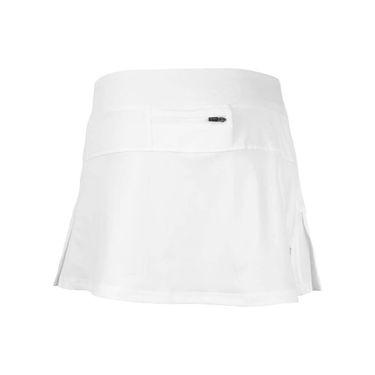 Head Pleated Skirt - Stark White