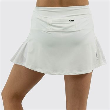 Head Pleated Skirt Womens Stark White HEW182SD12 S146û