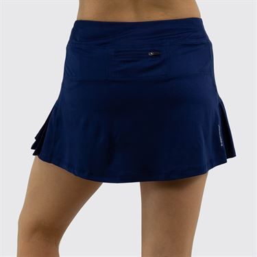 Head Pleated Skirt Womens Medieval Blue HEW182SD12 S237û
