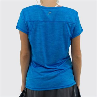 Head Short Sleeve Top Womens Blithe Heather HEW193TS02 R134û