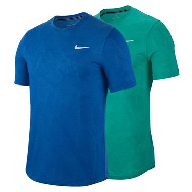 Nike Court Dri Fit Challenger Shirt Holiday 19 Mens