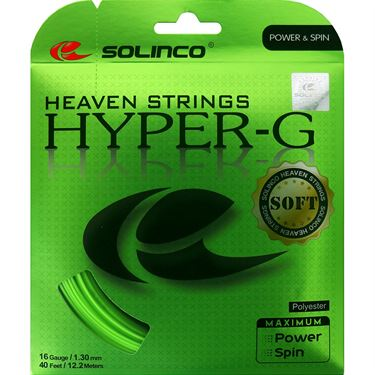 Solinco Hyper-G SOFT 16 (1.30) Tennis String