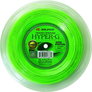 Solinco Hyper-G SOFT 16L (1.25) REEL