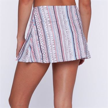 Eleven Ikat Stripe Flutter Skirt 13in - Ikat Stripe