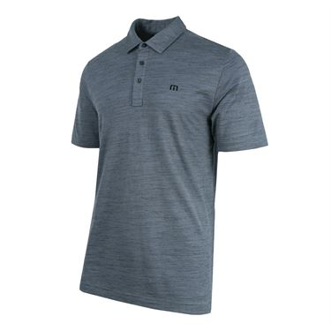 Travis Mathew Flying Tortilla Polo - Quiet Shade/Black