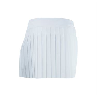 Lacoste Technical Woven Pleated Skirt - White
