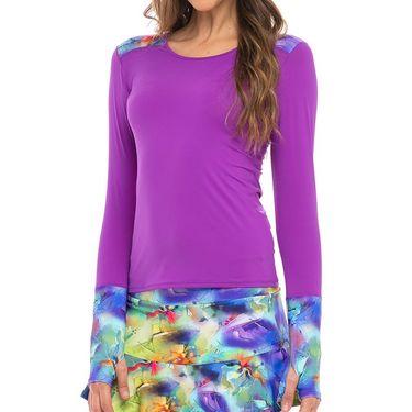 Bluefish Avanti Long Sleeve Top Womens Purple K2004 PURû