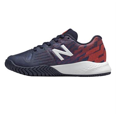 New Balance KC 996 Junior Tennis Shoe - Pigment/Multi