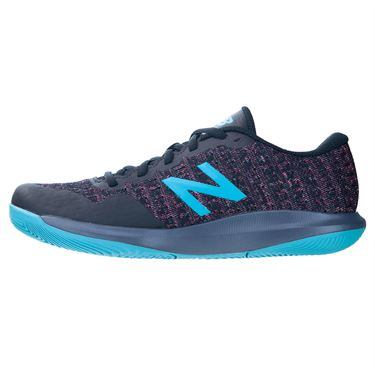 New Balance KC996W4 Junior Tennis Shoe Grey/Blue KC996WV4