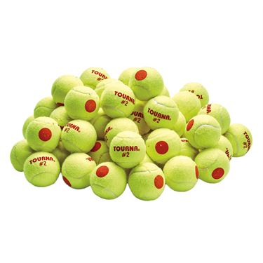 Tourna Stage 2 Tennis Balls (60 pack)