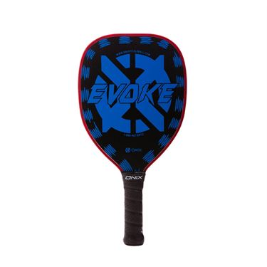 Onix Evoke Graphite Teardrop Pickleball Paddle - Blue