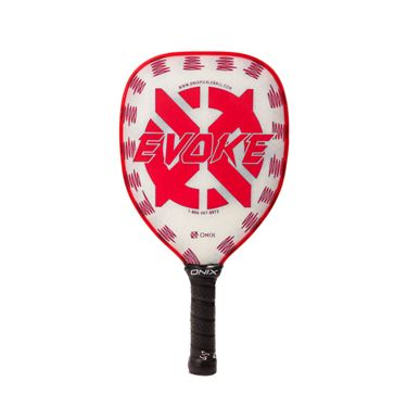 Onix Evoke Composite Teardrop Pickleball Paddle - Red