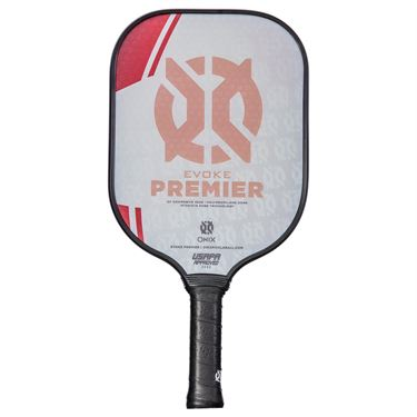 Onix Evoke Premier Pickleball Paddle - Red
