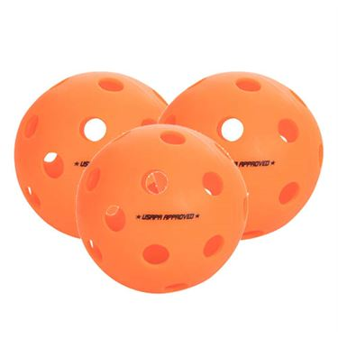 Onix Fuse Outdoor 3 Pack Pickleballs - Orange