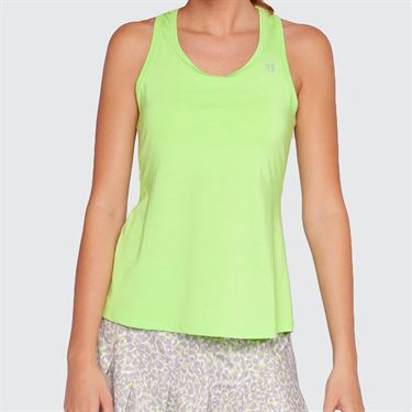 Eleven Love Leopard Race Day Tank - Sharp Green