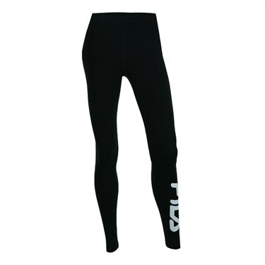 Fila Speed Logo Tights - Black/Red/White