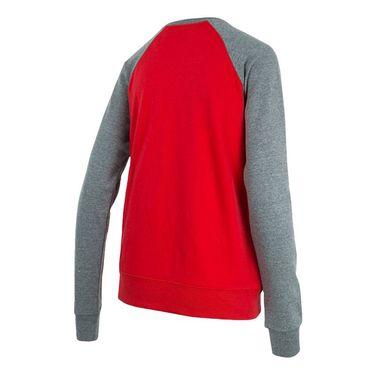 Fila Varsity Long Sleeve - Red/Varsity Heather