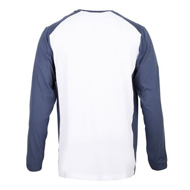 Athletic DNA Ventilator Long Sleeve - White/Denim