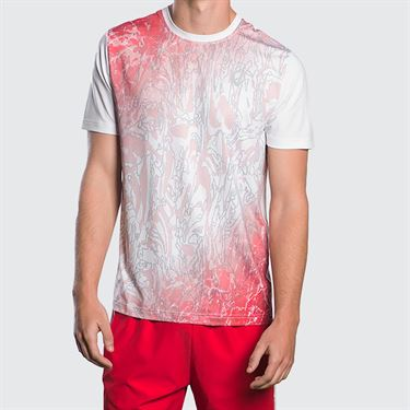 Athletic DNA Amorphous Mesh Crew - Red