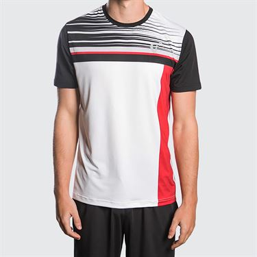 Athletic DNA Finish Line Mesh Crew - Red