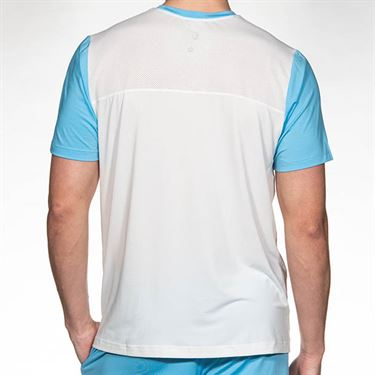 Athletic DNA Falling Lines Mesh Crew - Blue