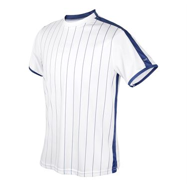 DUC Team Sublimated Crew Mens White/Navy M2003 WNY