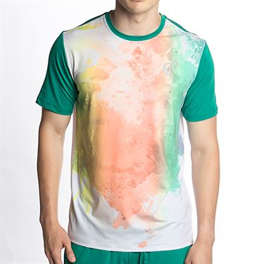 Athletic DNA Mesh Back Ventilator Crew Mens Color Run M319 27 41