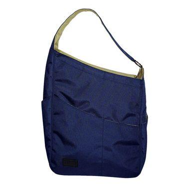 Maggie Mather Shoulder Bag Navy/Lime