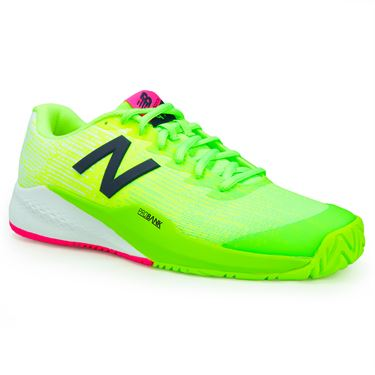 New Balance MC996LE3 (D) Mens Tennis Shoes - Energy Lime/Artic Fox