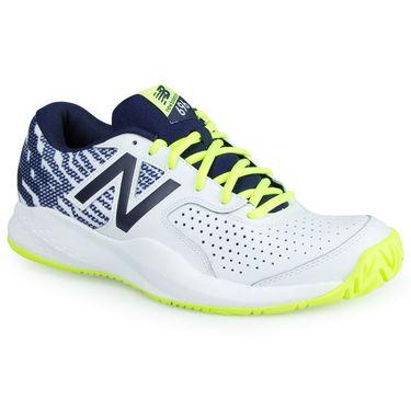 New Balance MCH696H3 (2E) Mens Tennis Shoe - Hi Lite/Pigment