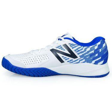 New Balance MCH696R3 (2E) Mens Tennis Shoe - Blue/White
