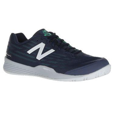 New Balance MCH896L2 (D) Mens Tennis Shoe - Vintage Indigo/Neon Emerald