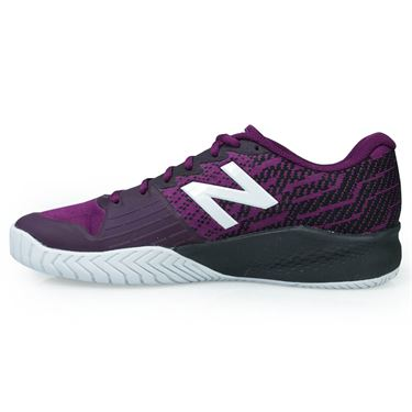 New Balance 996 (2E) Mens Tennis Shoe - Maroon/Black