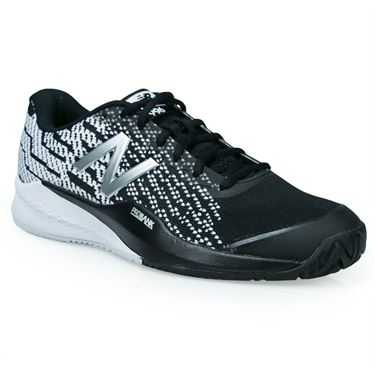 New Balance MCH996 (D) Mens Tennis Shoe - Black/White