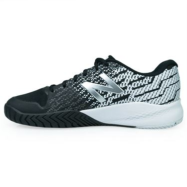 New Balance MCH996 (2E) Mens Tennis Shoe - Black/White