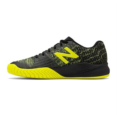 New Balance MC 996 (2E) Mens Tennis Shoe - Black/Sulphur Yellow