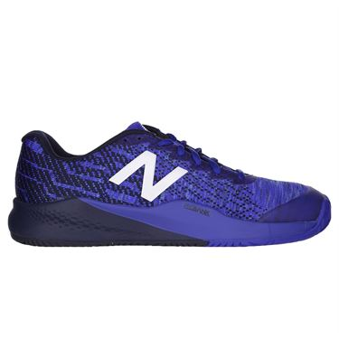 New Balance MC 996 (D) Mens Tennis Shoe - Dark Blue/Black/White