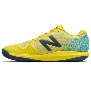 New Balance 996v4 (D) Mens Tennis Shoe - Yellow/Blue