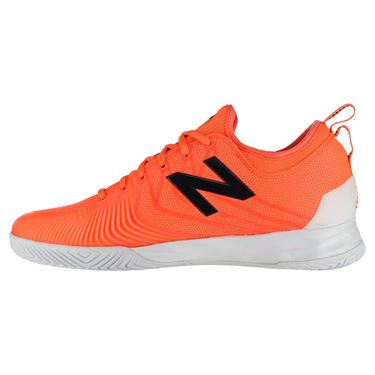New Balance Fresh Foam LAV (D) Mens Tennis Shoe - Dark Mango/Cyclone