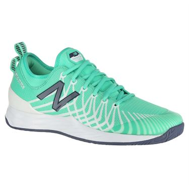 New Balance Fresh Foam LAV (D) Mens Tennis Shoe - Emerald/White