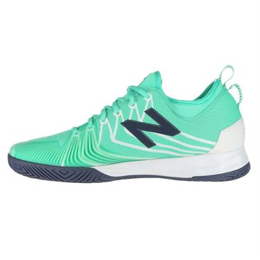 New Balance Fresh Foam LAV (2E) Mens Tennis Shoe - Emerald/White