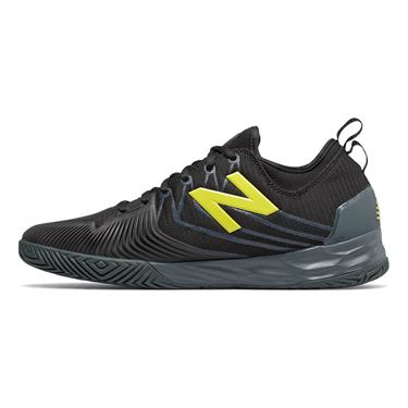 New Balance MC LAV (2E) Mens Tennis Shoe - Black/Iodine Violet
